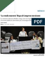 'La Estafa Maestra' Llega Al Congreso Mexicano _ Internacional _ EL PAÍS
