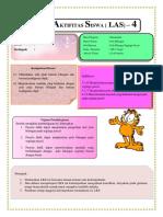 LAS SMP 4 Pola Bilangan Pascal