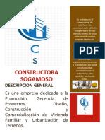 CONSTRUCTORA SOGAMOSO cartilla
