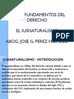 EL IUSNATURALISMO