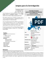 Organización Europea Para La Investigación Nuclear