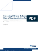 Increasing ROI and Reducing the Risks of Your Application Portfolio