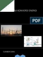 rekayasa konversi energi
