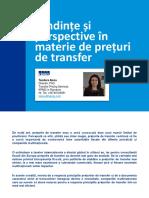 Prețurile de Transfer 06-02-2018
