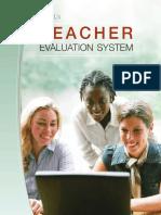 McRELTeacher Evaluation Users Guide