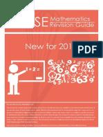 IGCSE CIE 0580 Math Revision Guide