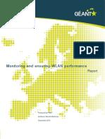 Geant Monitoring and Ensuring WLAN Performance