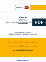 Actual Oracle 1Z0-960 Exam Question Answer