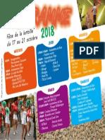Programme Fete de La Lentille 2018 25-09-2018