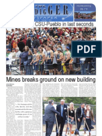 The Oredigger Issue 6 - October 11, 2010