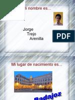 Mi Currículum Jorge Trejo