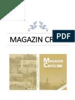 MAGAZIN CRITIC, Nr.52
