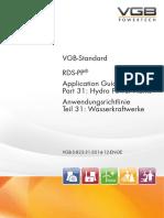 VGB-S-823-31-2014-12-EN-DE RDS-PP® Application Guideline Part 31