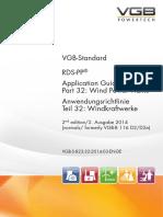 VGB-S-823-32-2014-03-EN-DE RDS-PP® Application Guideline Part 32