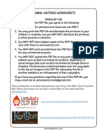 Kambal Katinig Worksheets