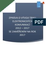 Telekomunikace v ČR do roku 2017