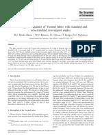 Artigo Venturi Theory