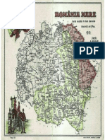 Harta Romania Unire