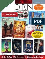 Acorn DVD 2018 Christmas Catalogue