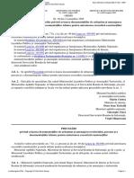 Ordin Nr. 30 Din 1995 Pentru Aprobarea Precizărilor Privind Avizarea Documentaţiilor de Urbanism Şi Amenajarea Teritoriului, Precum Şi a Documentaţiilor Tehnice Pentru Autor