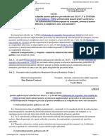 Ordin Nr. 456 Din 2014Privind Aprobarea Instrucţiunilor Pentru Aplicarea Prevederilor Art. III, IV, V Şi XVIII Din Ordonanţa de Urgenţă a Guvernului Nr. 72016 Privind Unele Măsuri Pentr