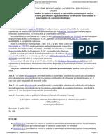 Ordin Nr. 456 Din 2014 Pentru Aprobarea Procedurilor de Control Al Statului La Autorităţile Administraţiei Publice Localejudeţene Privind Respectarea Prevederilor Legale La Emiterea Cert