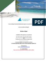 Job Maldives 101718