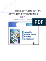 Ficha Técnica Del Test EFAI