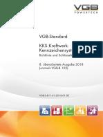 VGB-S-811-01-2018-01-DE VGB-Standard KKS Kraftwerk-Kennzeichensystem - Richtlinie und Schlüsselteil