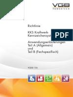 VGB-B 106 VGB-Richtlinie KKS Kraftwerk-Kennzeichensystem Anwendungserläuterungen