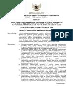 18 Permenhut 38 2014 tata cara persyaratan kegiatan ttn tarif Rp 0 di ksa kpa tb ha.pdf