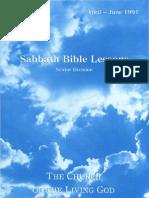 SDARM Qtr. 2 1991 Bible Study