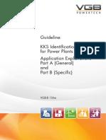 VGB-B 106e VGB-Guideline KKS Identification System for Power Stations - Application Explanations
