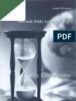 SDARM Qtr. 4 1991 Bible Study