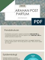 PPT perdarahan post partum