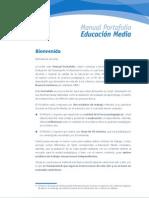 Manual Portafolio 2010_Enseñanza Media_Gobierno de Chile