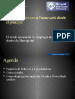 Share Point Solutions Framework Desde El Principio