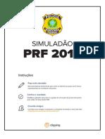 Simulado PRF Clipping 2018