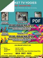 0818-0927-9222 (WA) | Harga Bracket Tv 43 Inch Bandung, Bracket TV Yogies