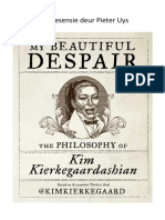 RESENSIE van 'My Beautiful Despair' deur Kim Kierkegaardashian.