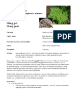 Angelica Sinensis materia medica herbs
