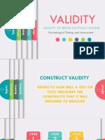 Construct Validity