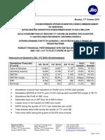 Media Release - JIO - Q2 (FY 2018-19) - 17102018
