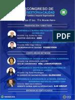 Temario III Congreso de Calidad 2018