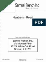 Heathers - Reeds