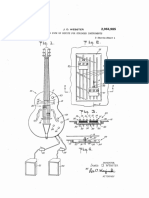 US2964985 Sound pick up device for stringed instruments 1960 GRETSCH.pdf