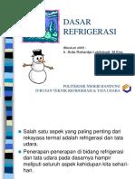 DasRefr POLBAN ARL Sem Genap 2012-2013