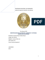 Tercer Informe de Quimica Industrial