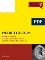 [What Do I Do Now_] Darius Kohan, Selena Heman-Ackah, Sujana Chandrasekhar - Neurotology (2014, Oxford University Press)