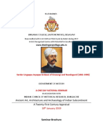 BROCHURE A ONE DAY HISTORY NATIONAL SEMINAR:18-01-2019